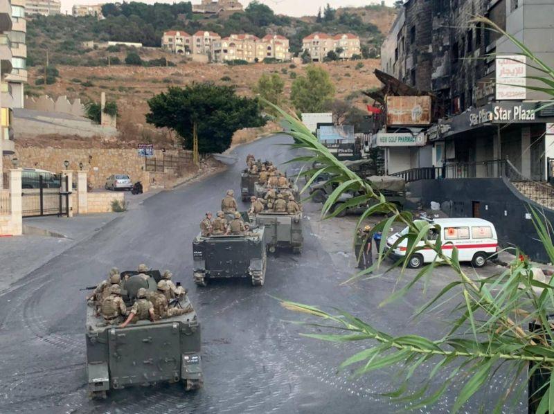 Scène de guerre à Khaldé suite à une vendetta