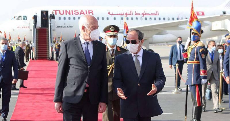Le coup de force de Saïed consolide un rapprochement avec Le Caire