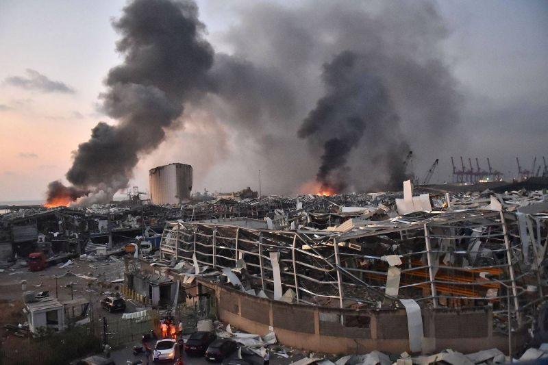 La reconstruction du port de Beyrouth: un chantier crucial laissé à l'abandon