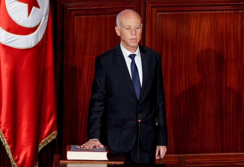 Le président tunisien a réussi à séduire l'armée