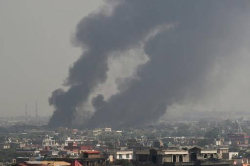 Deuxième forte explosion entendue à Kaboul, suivie de tirs