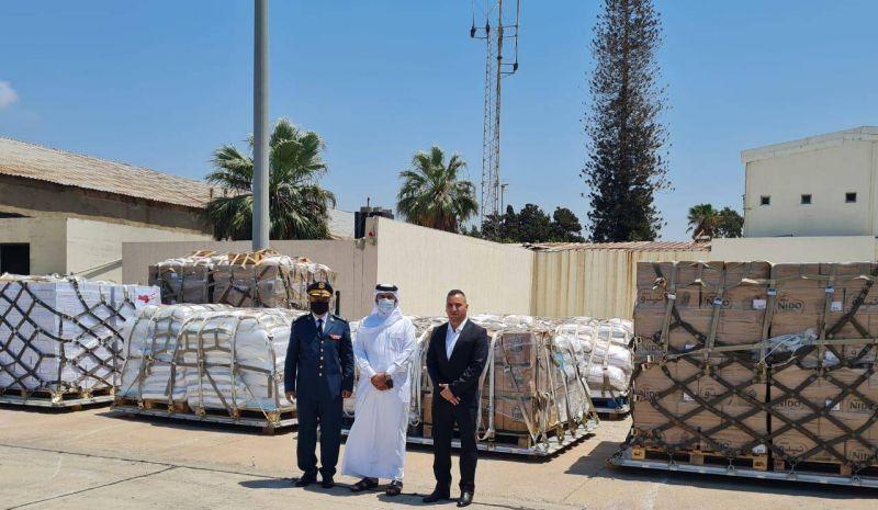 Un deuxième avion qatari chargé d'aide alimentaire est arrivé à Beyrouth