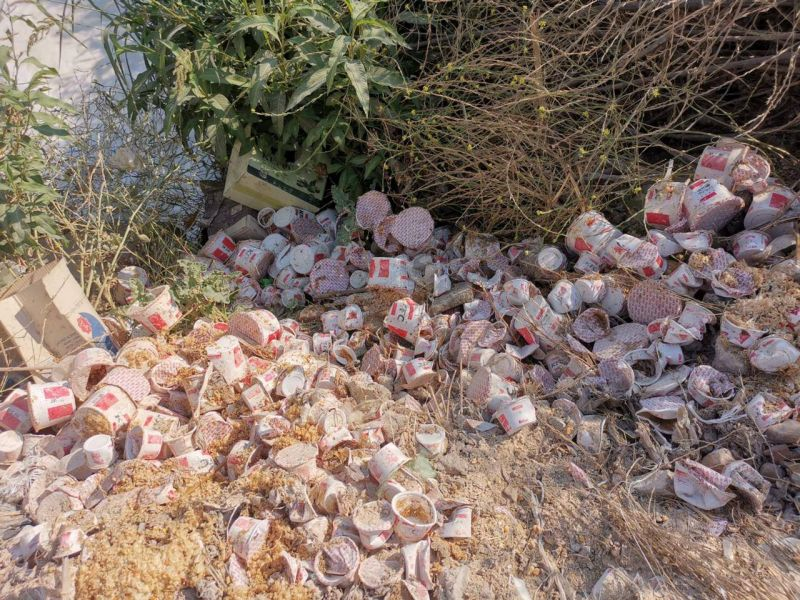 The Litani River Authority will lodge a judicial complaint over KFC-branded waste found on the river's banks