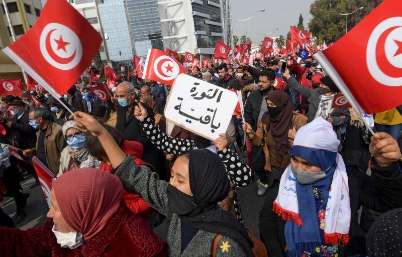 A Tunis, les islamo-conservateurs d'Ennahdha pointés du doigt