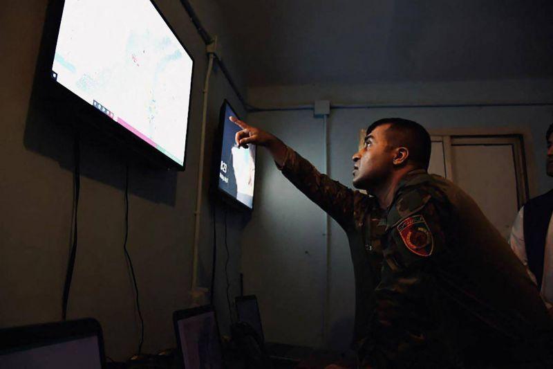 Dans le sud de l'Afghanistan, un jeune général entretient la flamme face aux talibans