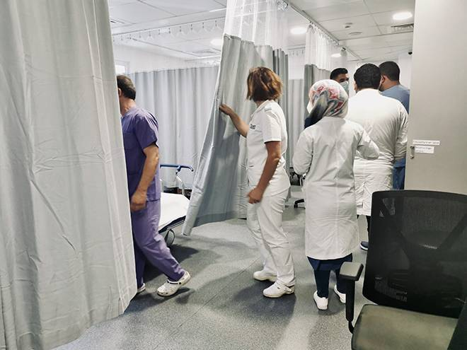 Les hôpitaux mettent en garde contre un scénario