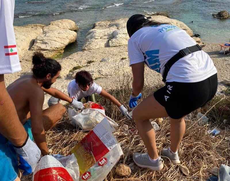 Malgré la crise, Swim Lebanon à la rescousse des plages du pays