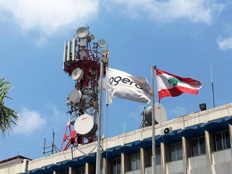 With the state telecom monopoly crippled, Lebanon may soon go offline