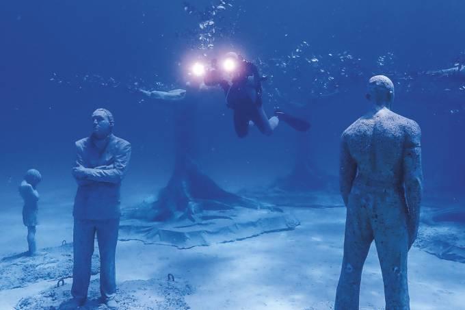 Au large d'Ayia Napa, un musée immergé