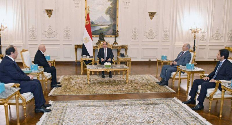Haftar et le président du Parlement reçus en Egypte par Sissi