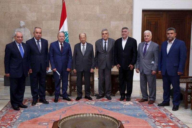 Aoun espère que les négociations avec le FMI et la BM commenceront