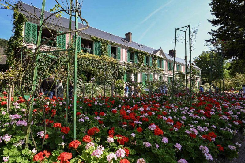 Promenade bucolique dans les jardins de Monet à Giverny