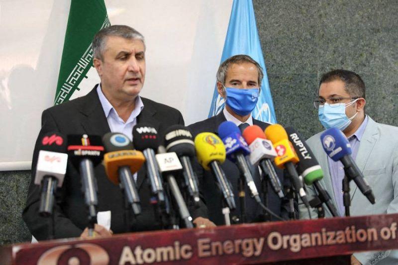 Accord entre l'AIEA et l'Iran sur le matériel de surveillance