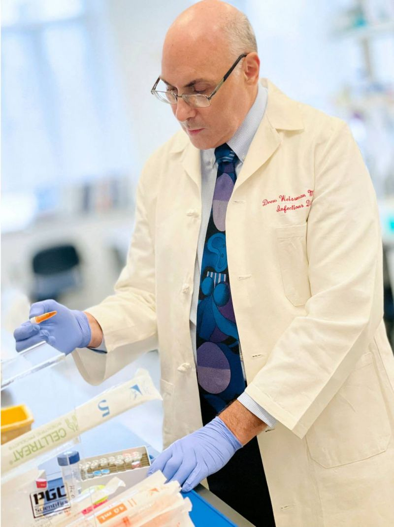 Le nouveau défi du co-inventeur des vaccins à ARN messager