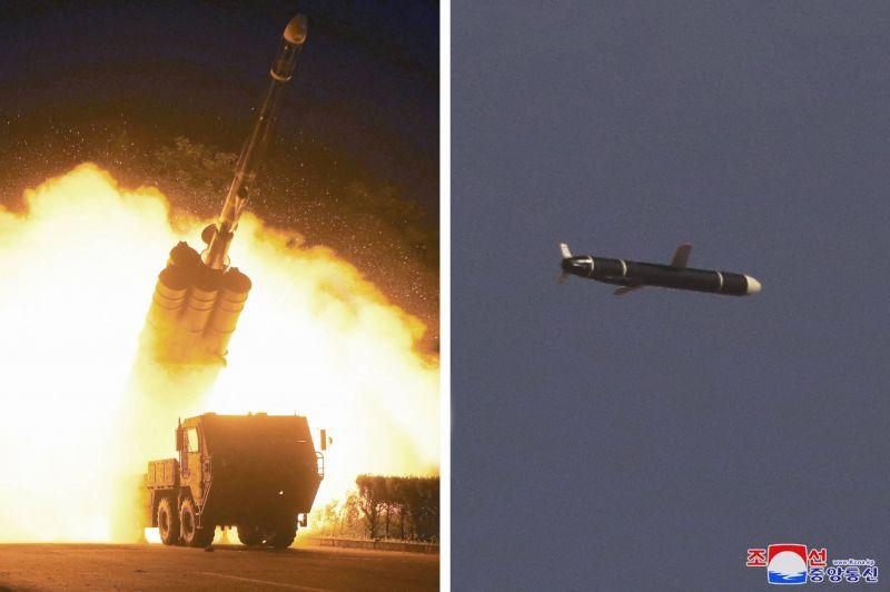 Tirs d'essai par Pyongyang d'un nouveau missile de croisière longue portée