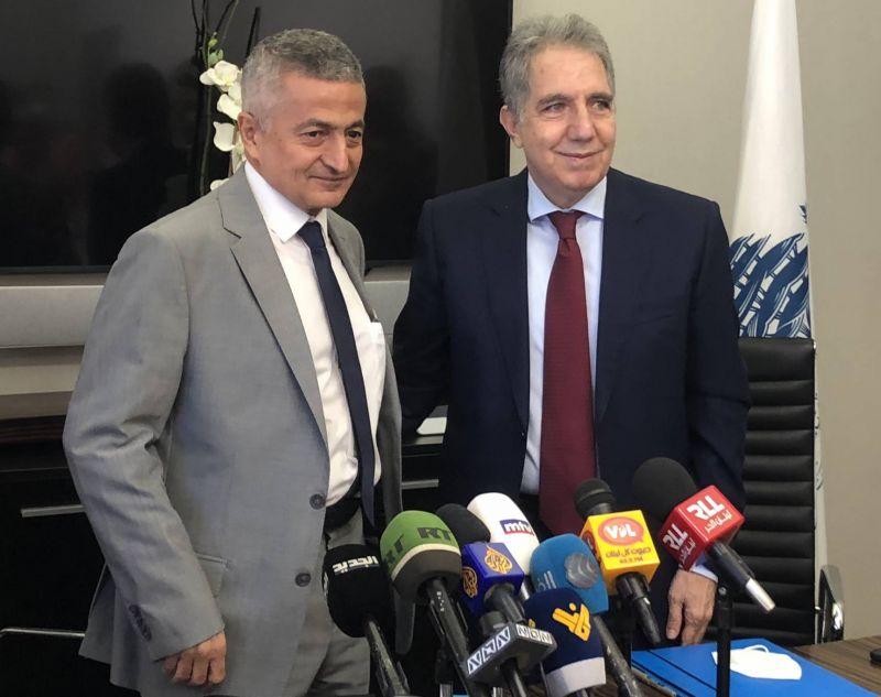 Signature imminente du contrat avec Alvarez & Marsal, assure Wazni