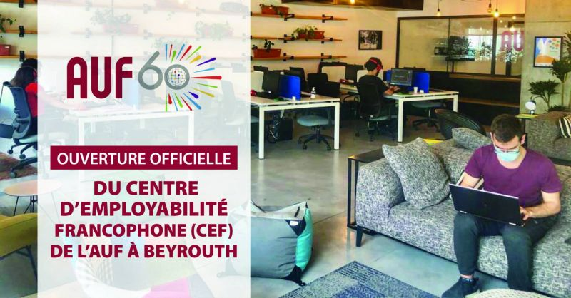 Le Centre d'employabilité francophone débarque à Beyrouth