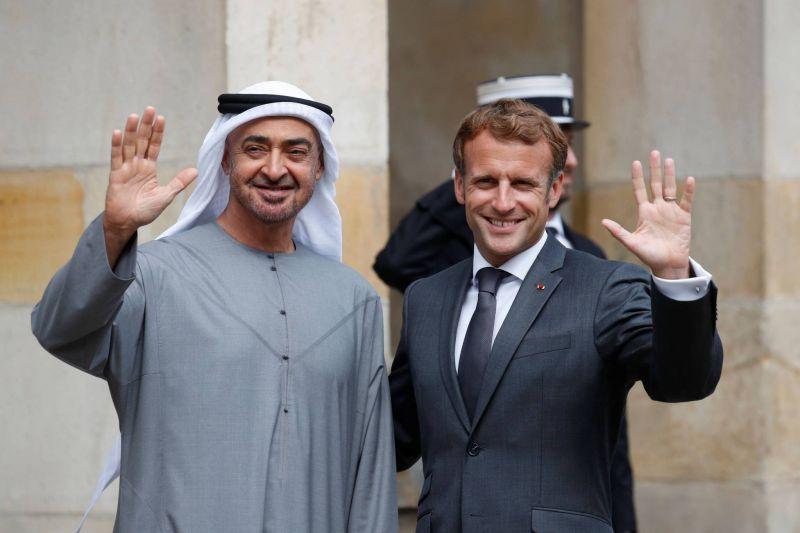 MBZ reçu par Macron à Fontainebleau
