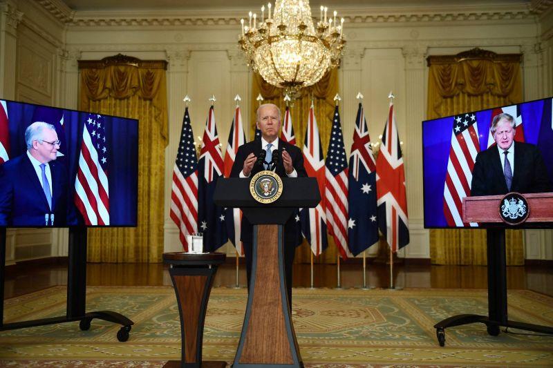 États-Unis, Australie et Royaume-Uni scellent un pacte de sécurité dans l'Indopacifique