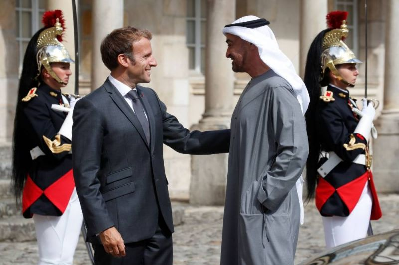 Macron reçoit le prince héritier d'Abou Dhabi, partenaire clé dans le Golfe
