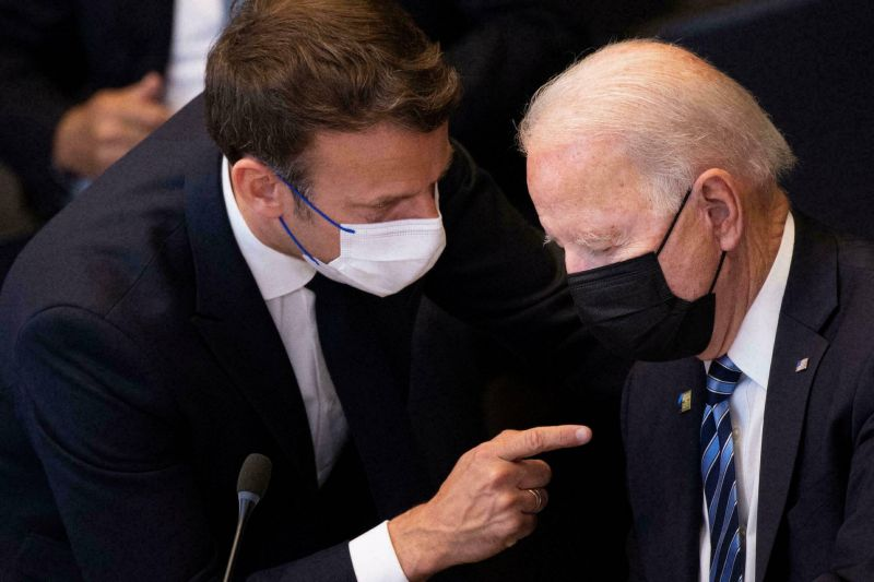 Macron s'entretiendra avec Biden ce mercredi