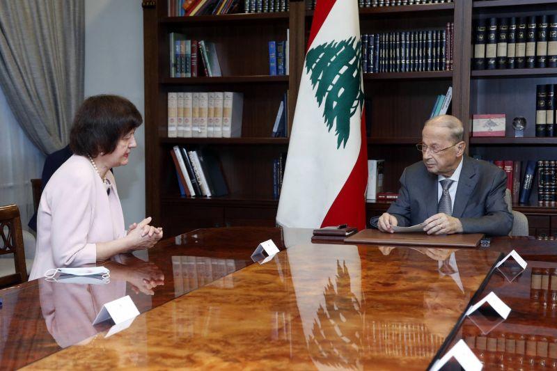 Aoun souhaite une reprise prochaine des négociations avec Israël
