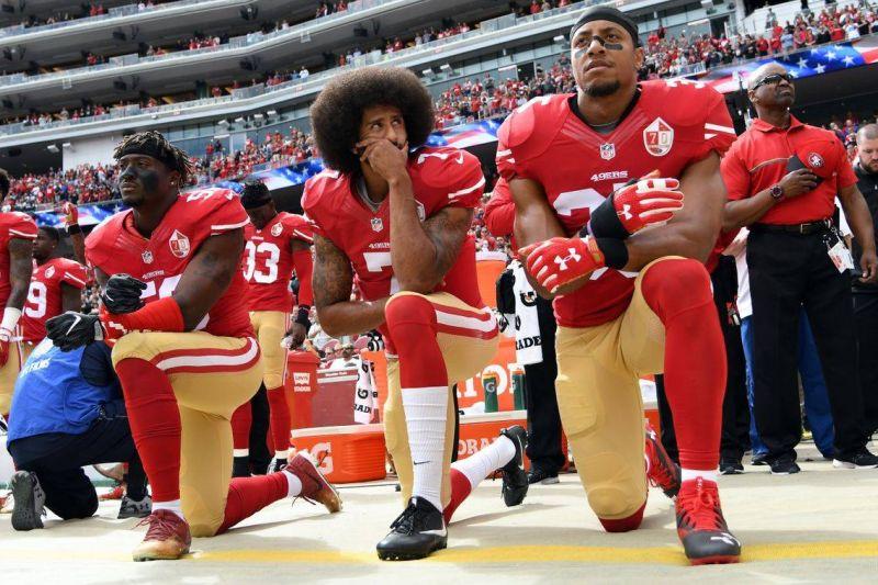 L'hymne national américain noir contre le racisme