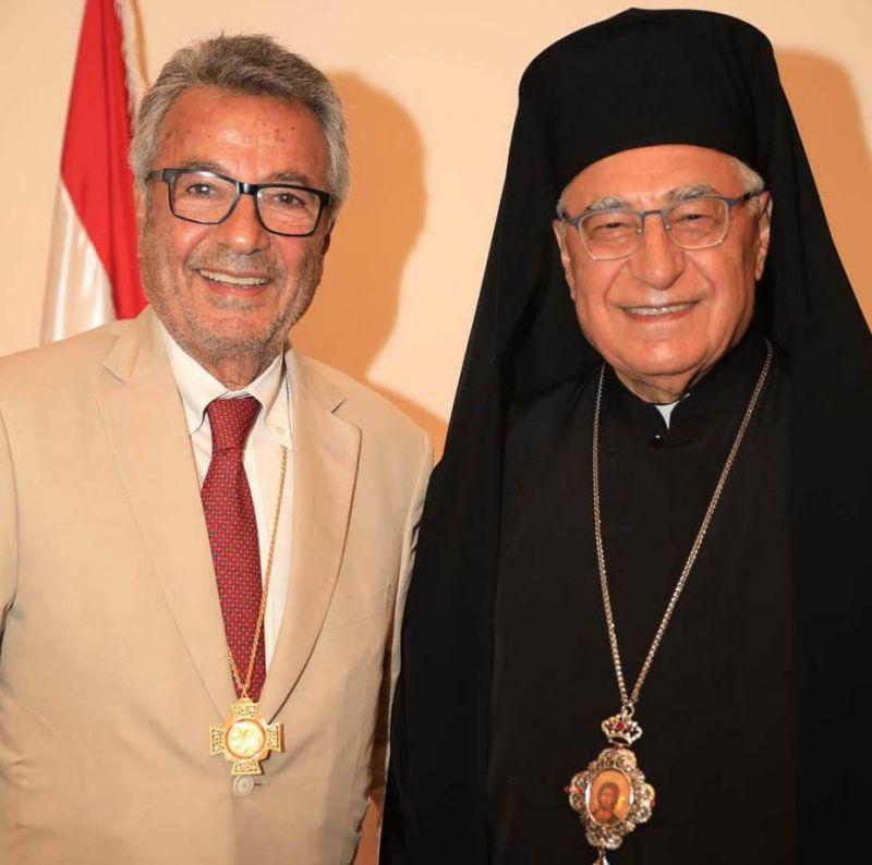 L'ordre patriarcal melkite de la Sainte-Croix de Jérusalem à Talal Makdessi