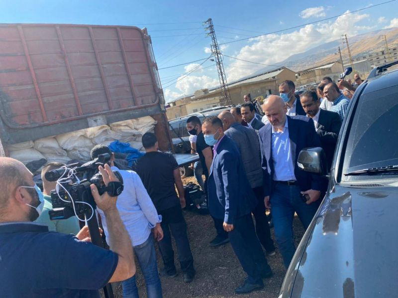 Vingt tonnes de nitrate d'ammonium saisies dans la Békaa, Maroun Sakr entendu par la police