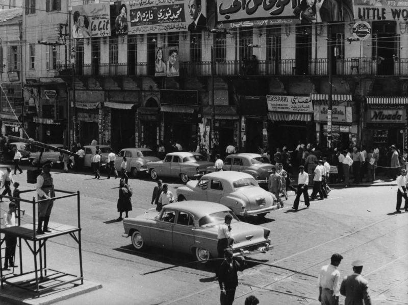 Beyrouth avant et après la guerre