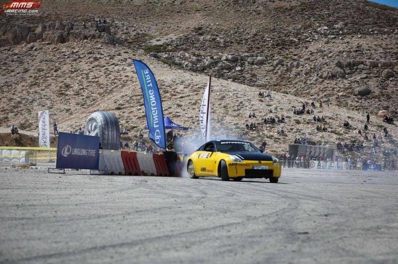 Course de drift à Mzaar-Kfardebiane