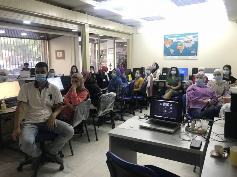 À Tripoli, l'école d'été du campus numérique francophone clôture ses activités