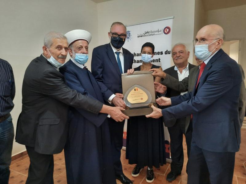 La ministre belge pour la Coopération et le Développement à Khiam: Solidaires des Libanais dans cette crise