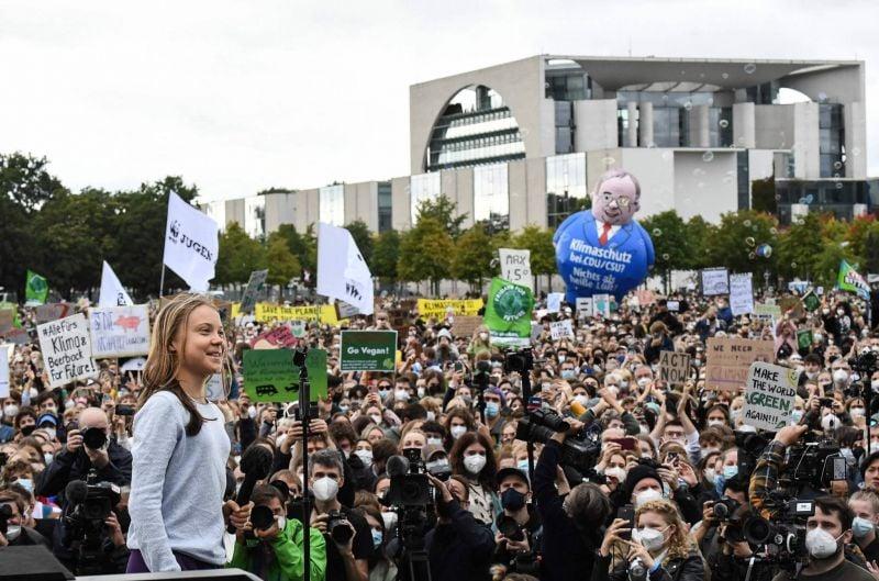 Mobilisation en Allemagne pour le climat en amont des élections