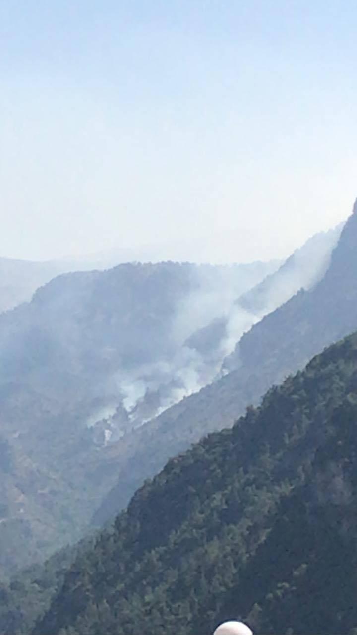 Nouvel incendie dans la région de Wadi Jhannam