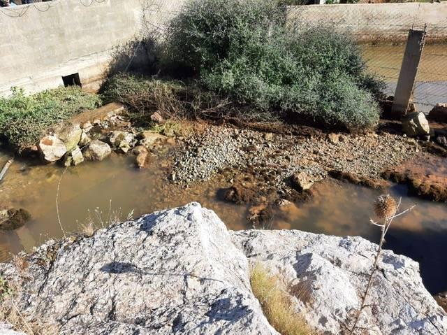 Assèchement d'une source d'eau potable à Wadi Khaled
