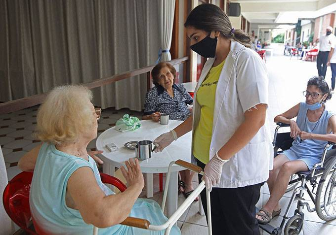 Left on their own amid the crisis, Lebanon's elderly care homes face the unknown