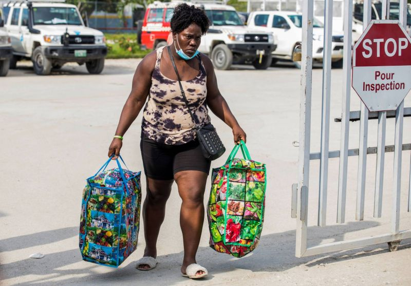 Les Haïtiens ont quitté la frontière mexicano-américaine