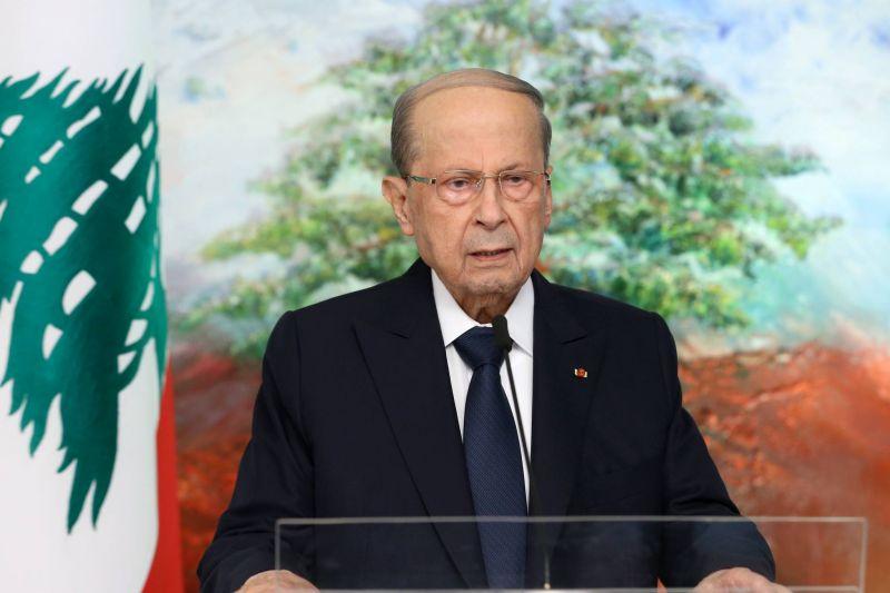 Aoun : Les menaces israéliennes sont le principal souci de l'État libanais