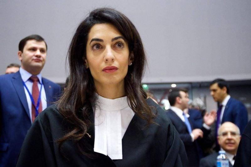 Amal Clooney nommée conseillère à la Cour pénale internationale pour le Soudan