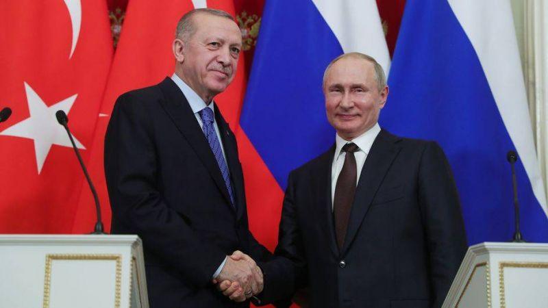 Syrie, Libye, Afghanistan au menu de la rencontre Poutine-Erdogan