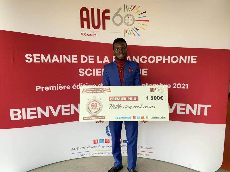 En échange à l'AUB, un étudiant burundais lauréat d'un concours international