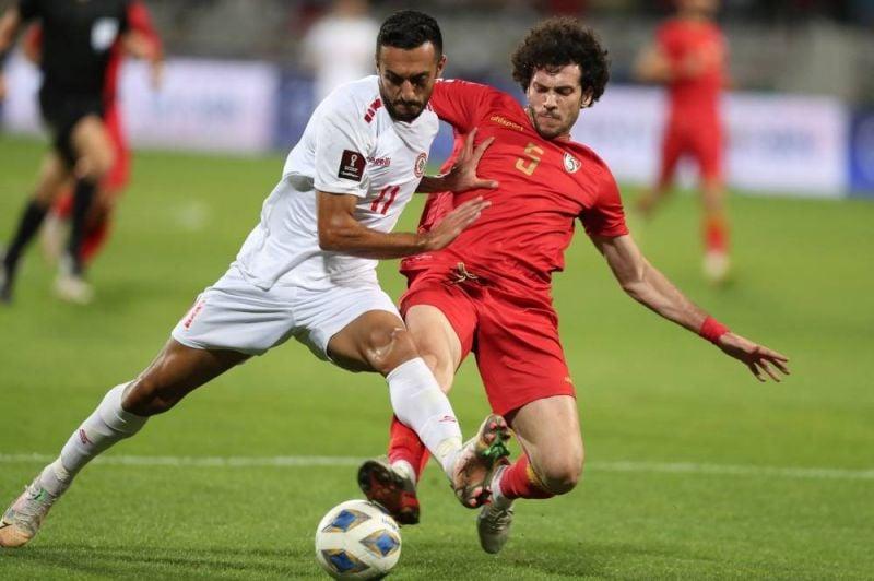 Mondial 2022 : le Liban domine la Syrie pour son 4e match de qualification