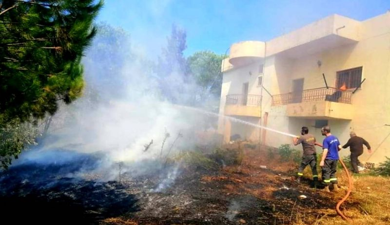 Des feux de forêt maîtrisés dans le Metn, Denniyé et le Akkar