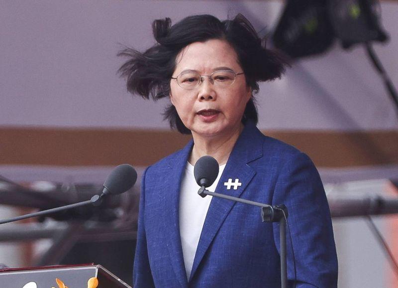 Taïwan ne cédera pas aux pressions de la Chine, affirme sa présidente