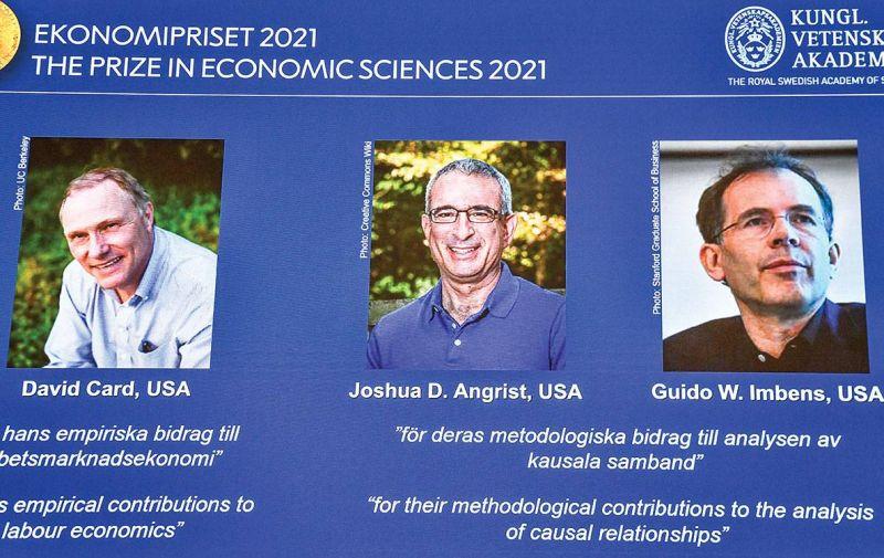 Le Nobel d'économie à un trio de spécialistes en expériences