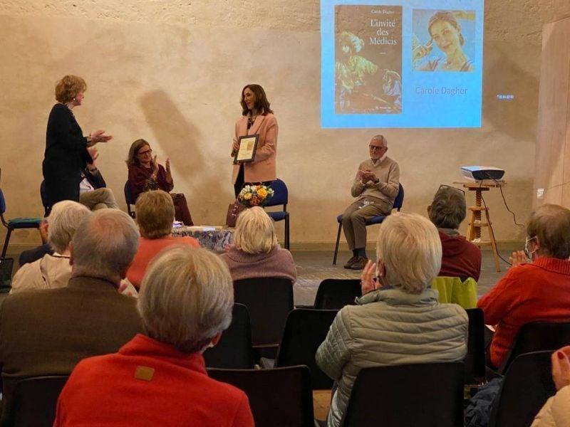 Le prix Michel Tournier 2021 décerné à Carole Dagher pour «L'invité des Médicis»