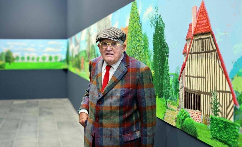 David Hockney: Ma joie vient de la manière dont je regarde le monde