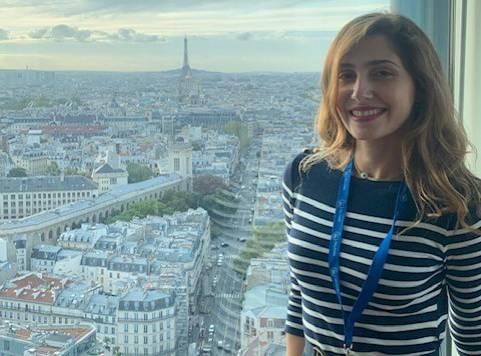 À Paris, Rania Kassir a défendu les couleurs du Liban lors d'une compétition interuniversitaire
