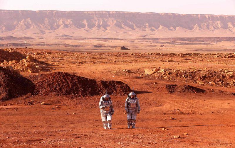 Dans le désert du Néguev, des astronautes simulent la «vie sur Mars»